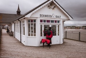 Southwold Pier with Caroline & Timmy